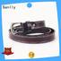 Wholesale tan designer belt vegtan free sample for girls