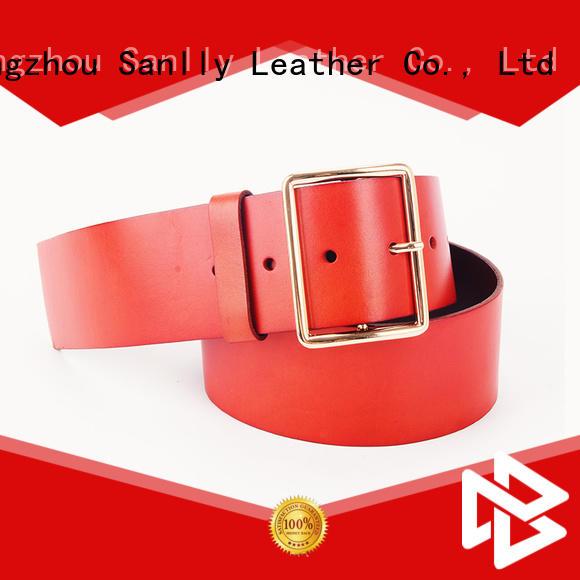 funky latest fashion mens belts needle bulk production for men