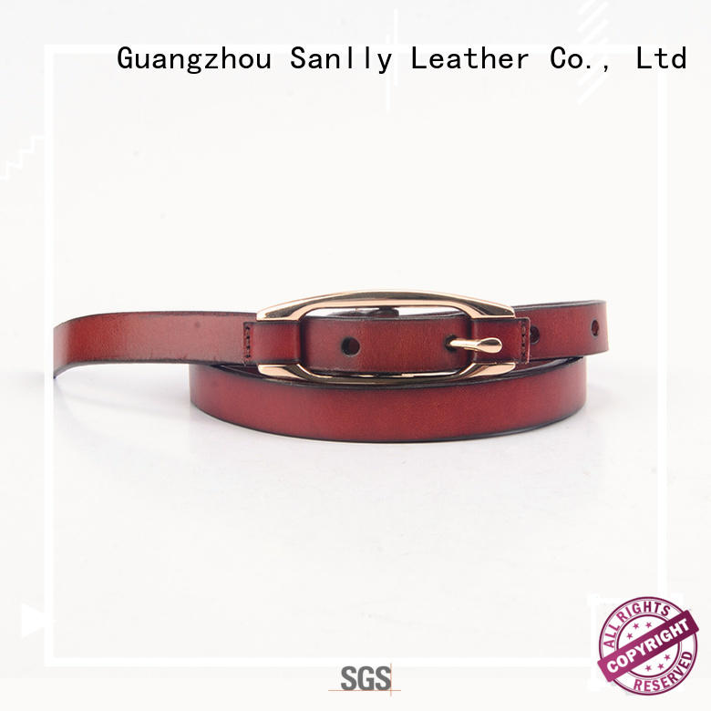 Sanlly Breathable top mens designer belts modern for shopping