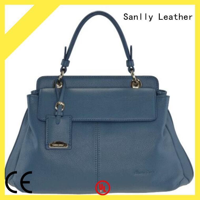 Sanlly custom ladies leather handbags stylish for women