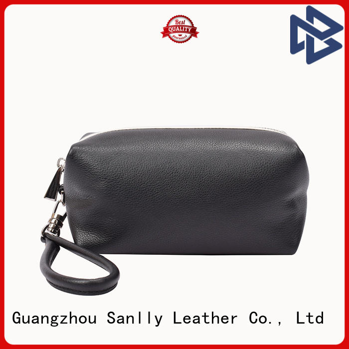 Sanlly coin leather wristlet purse free sample for girls