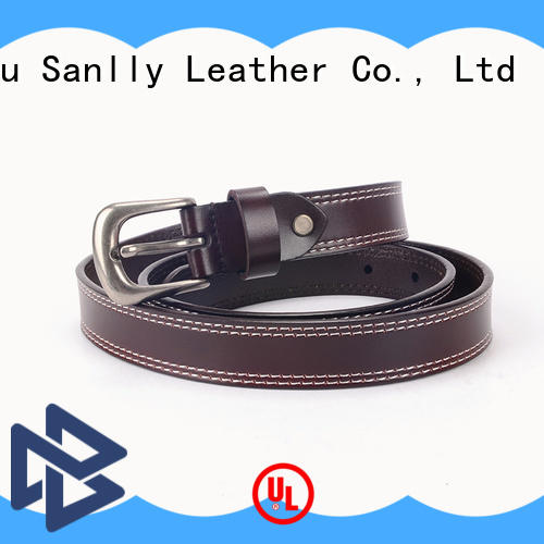 metal latest belts for men bulk production for girls Sanlly