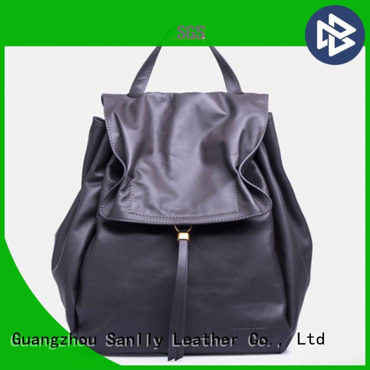 Sanlly wristlet ladies leather handbags stylish for winter