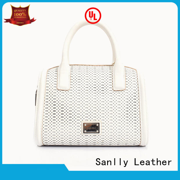 business leather satchel handbags stylish for shopping Sanlly