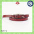 Wholesale black leather belt mens designer design Supply for girls