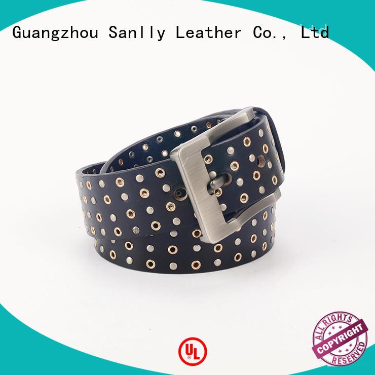 Sanlly latest top mens designer belts for wholesale for modern men
