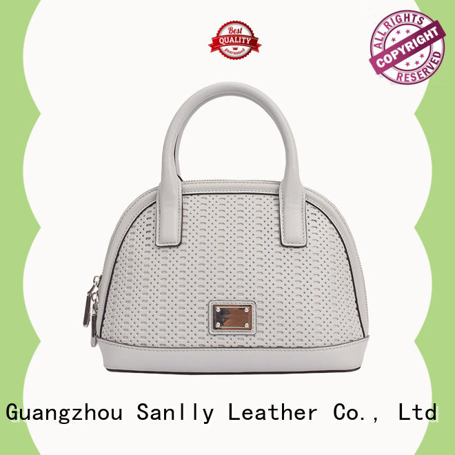 Sanlly solid mesh large handbags for women soft for shopping