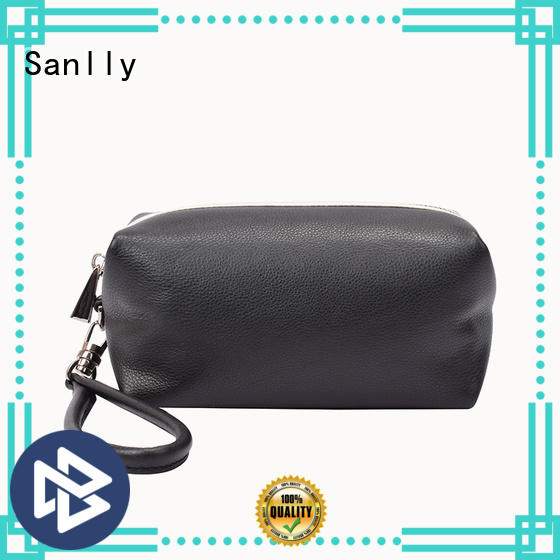 Sanlly coin leather wristlets for women ODM for girls