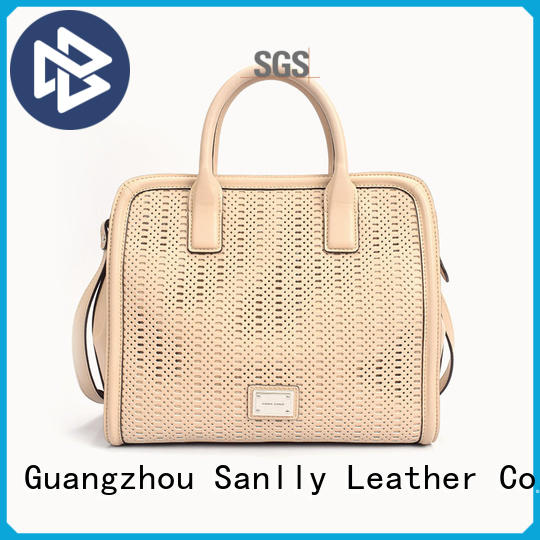 Sanlly portable womens leather tote handbags for wholesale for shopping