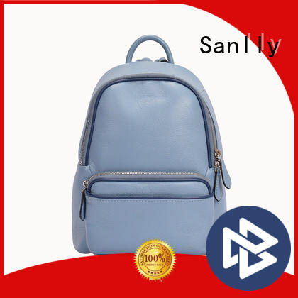 solid mesh ladies leather backpack bags real bulk production for women
