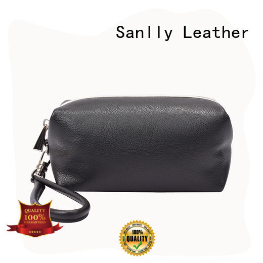Sanlly women women's leather wristlet wallet OEM for modern women