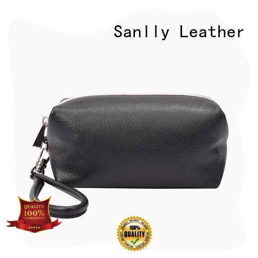 Sanlly women women's leather wristlet wallet OEM for modern women