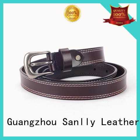 durable cool mens leather belts customized bulk production for shopping