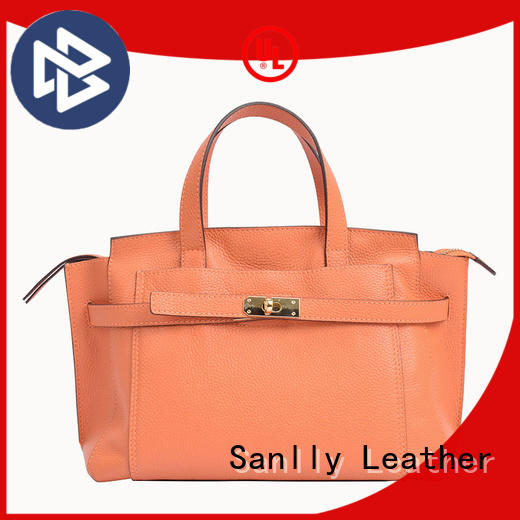 Sanlly solid mesh shopping ladies bag ODM for modern women