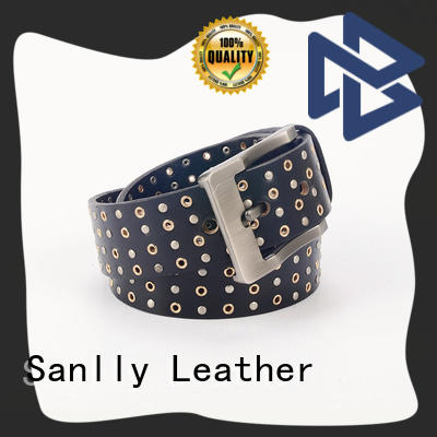 Sanlly Breathable men's leather belts buy now for men