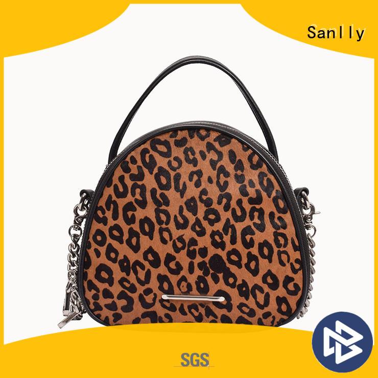 Sanlly smooth women's designer handbags bulk production