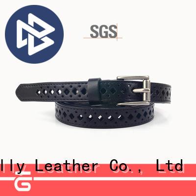 Sanlly quality suede belts ladies bulk production
