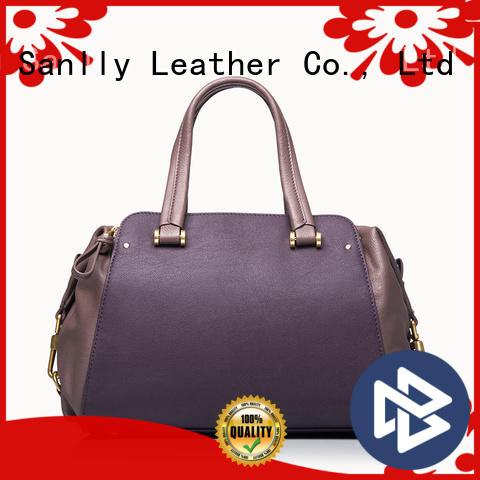 Sanlly crossbody womens leather tote bag customization for modern women