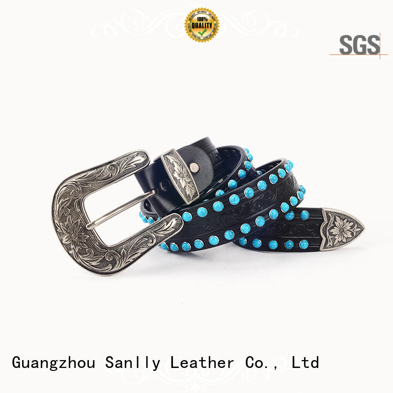 Sanlly at discount ladies coloured belts free sample