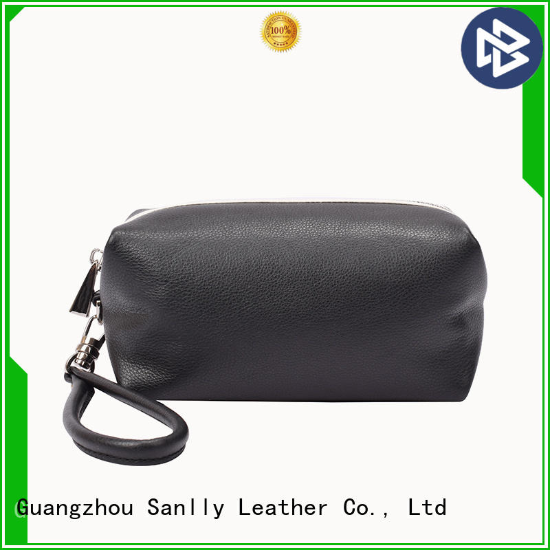Sanlly solid mesh wristlet with crossbody strap buy now for women
