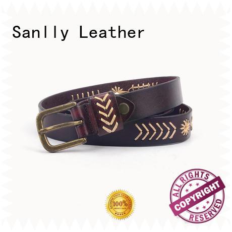 Sanlly cool mens fashion belts ODM for modern men
