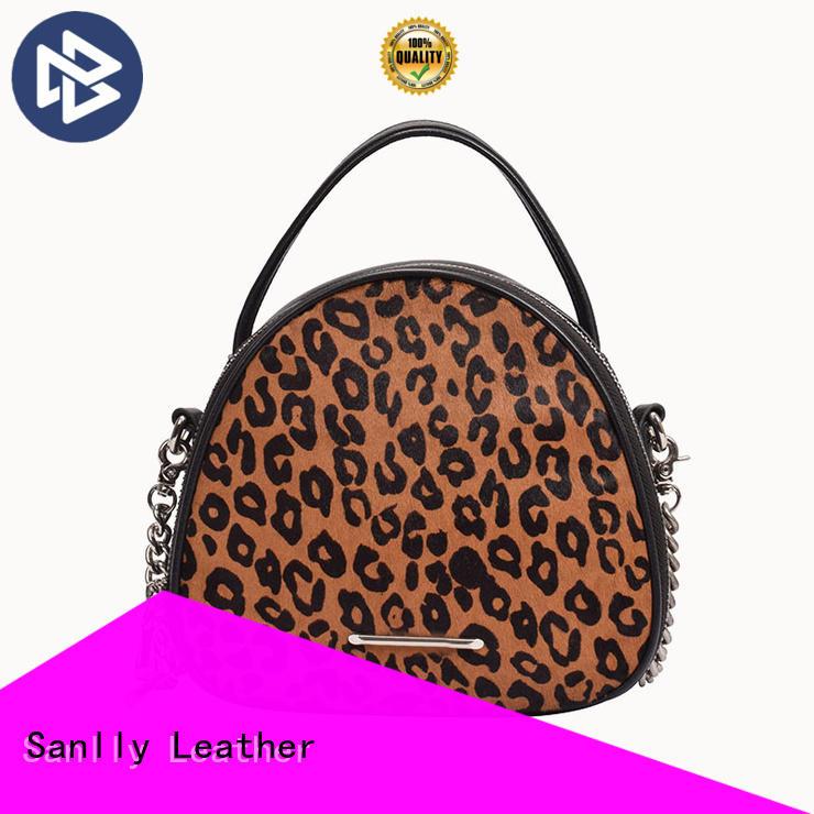 Sanlly Breathable best women's leather handbags OEM for girls