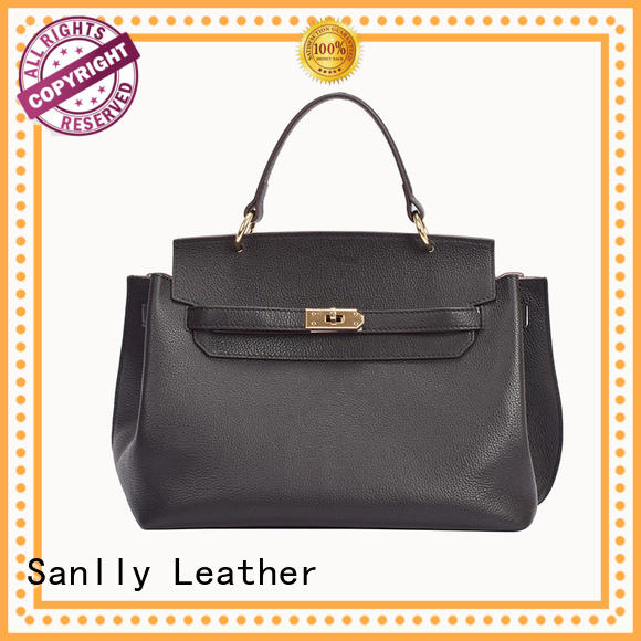 Sanlly latest womens leather tote bag ODM for modern women
