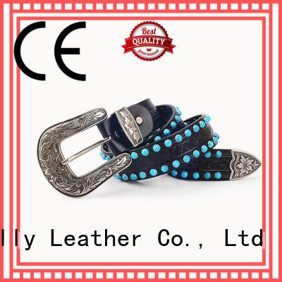 Retro Style Precious Stones Broad Belts For Women