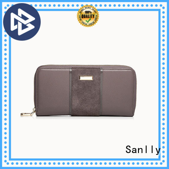 Sanlly portable ladies bifold leather wallet buy now for girls