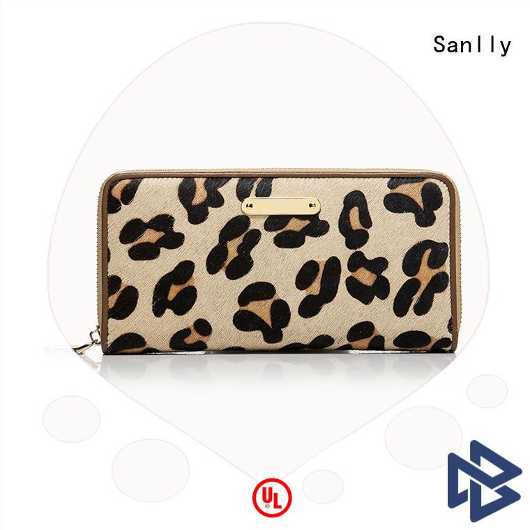 solid mesh best women's zip wallets lady customization for single shoulder