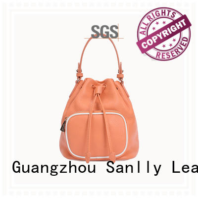 Sanlly durable ladies leather tote bag ODM for single shoulder