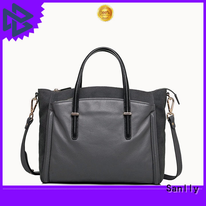 Sanlly solid mesh new ladies bag get quote for modern women
