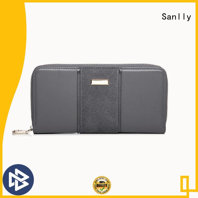 Sanlly purse luxury wallets for women OEM for modern women