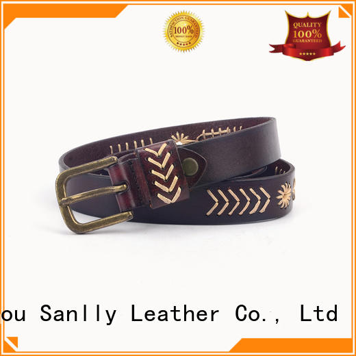 Sanlly latest mens fashion belts supplier for girls