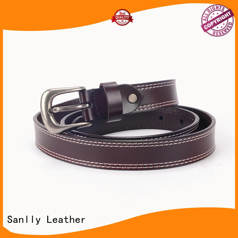 Sanlly High-quality chanel belt mens manufacturers for modern men
