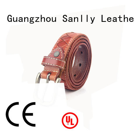 Sanlly handmade mens fashion belts ODM for modern men