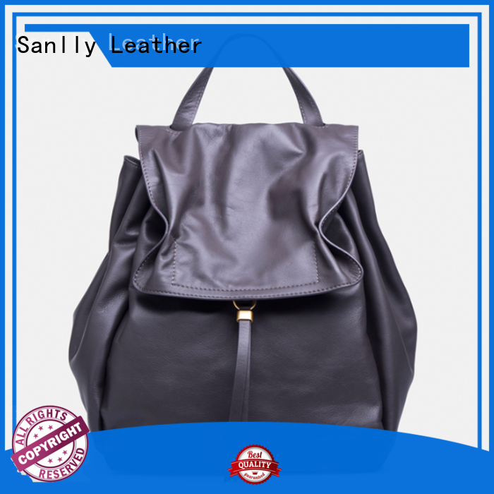 Sanlly leather ladies leather handbags winter suede for winter
