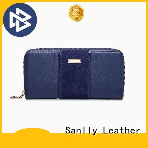 Sanlly card fold wallet womens OEM for modern women