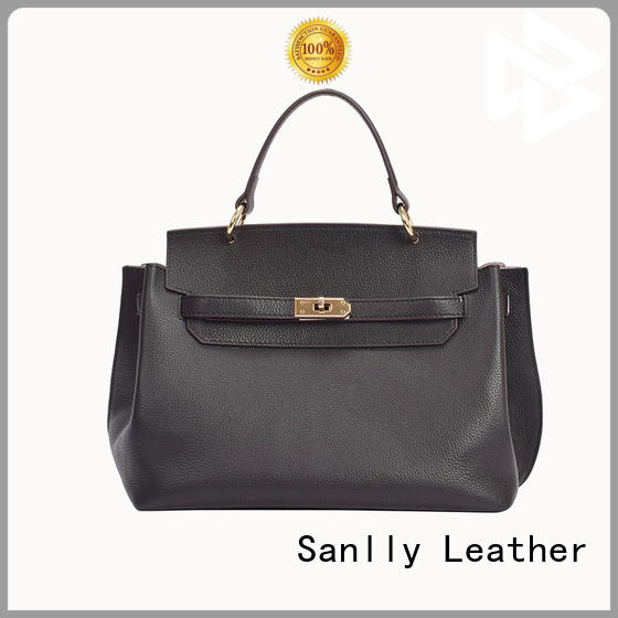 Sanlly large tooled leather handbags OEM for women