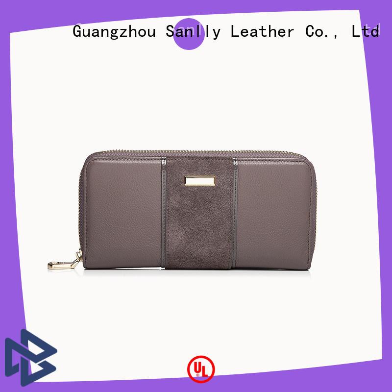 Sanlly latest women's designer wallets supplier for single shoulder