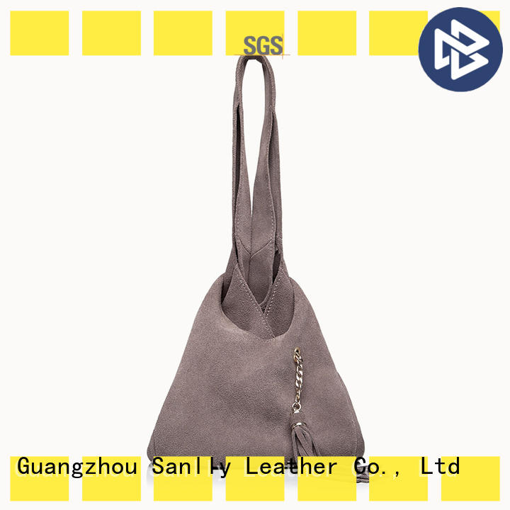 Sanlly high-quality ladies leather bags customization for women