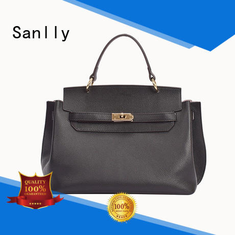 Sanlly high-quality leather pouches for women customization for girls