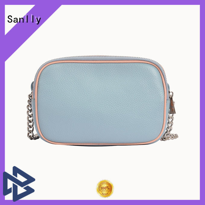 Sanlly high-quality leather shoulder bag women's buy now for girls