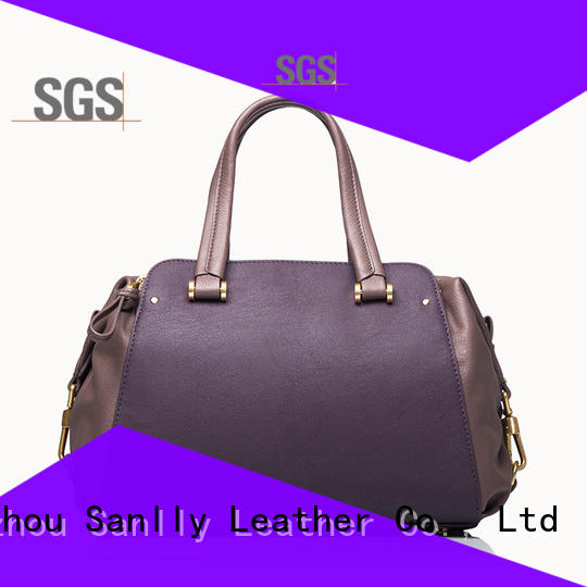Sanlly suede leather backpack handbag for wholesale for girls