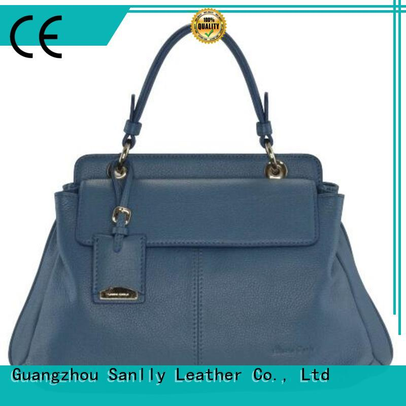 Sanlly leather ladies leather handbags stylish for women