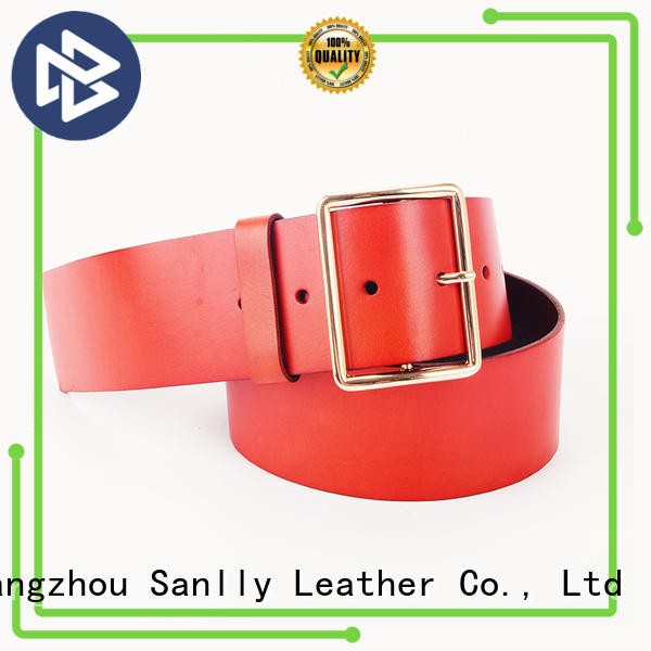 Sanlly business top belts for men customization for girls