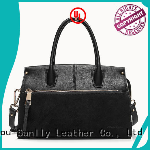 Sanlly high-quality womens leather tote handbags free sample for women