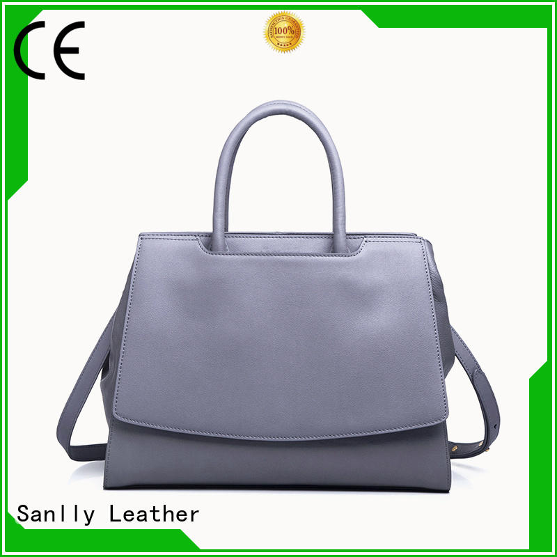 Wholesale quilted leather handbag pebble customization for modern women