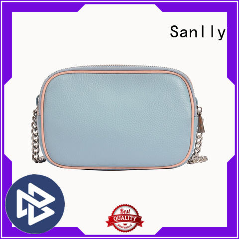 Sanlly at discount genuine leather shoulder bag design for modern women
