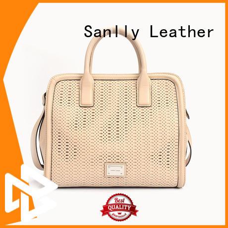 Sanlly solid mesh lady bag ODM for girls